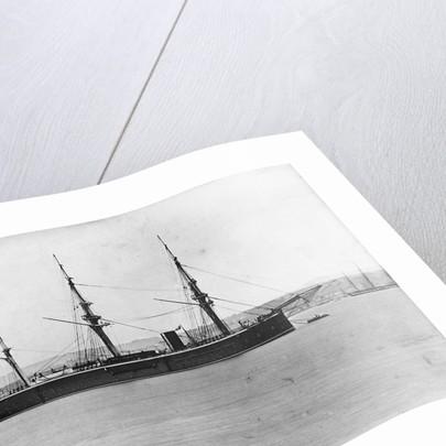 HMS 'Vanguard' (1870) by unknown