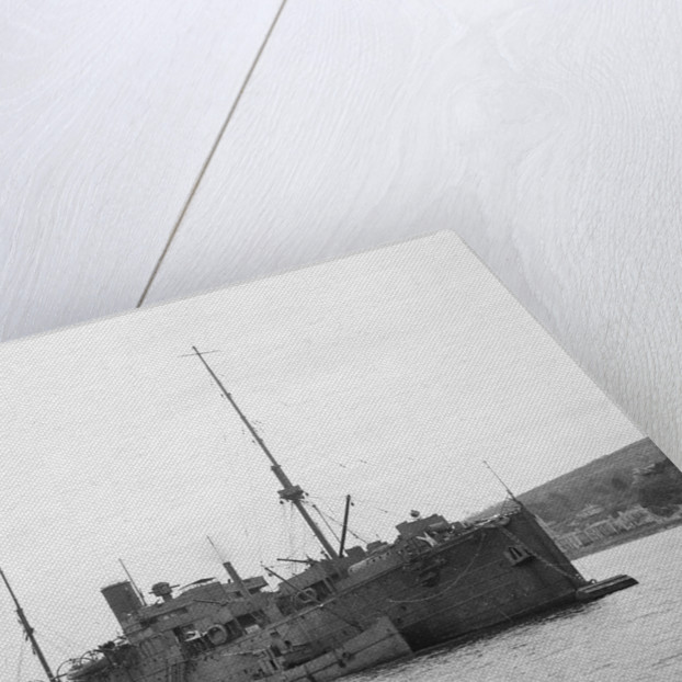 A starboard bow view of 'Cyclops' (1905) by unknown