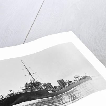 Torpedo boat destroyer HMS 'Gala' (1905) by unknown