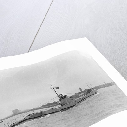 Submarine 'Triton' (1937) by unknown