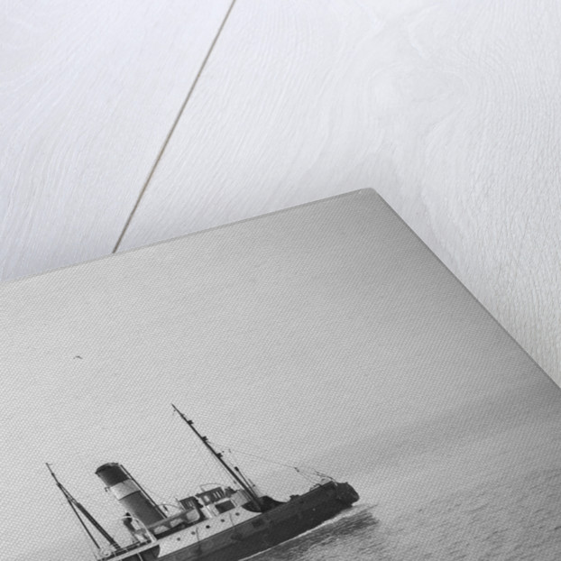 A photograph of 'Brockenhurst' (1913) - under way off Swansea, bound in by unknown
