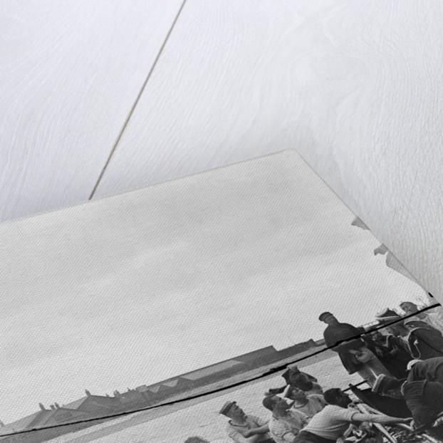 Regatta HMS 'Vincent' 1898 a dispute by Kenneth Hurlstone Jones