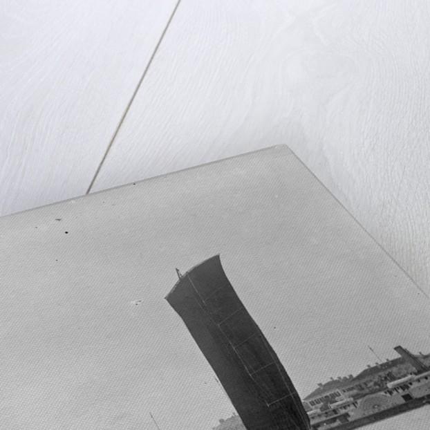 A Ningpo passenger junk under sail at Woosung by Kenneth Hurlstone Jones