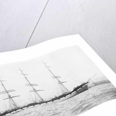 4 masted barque 'Conishead' (Br, 1892), Bourke & Huntrods, at anchor by unknown