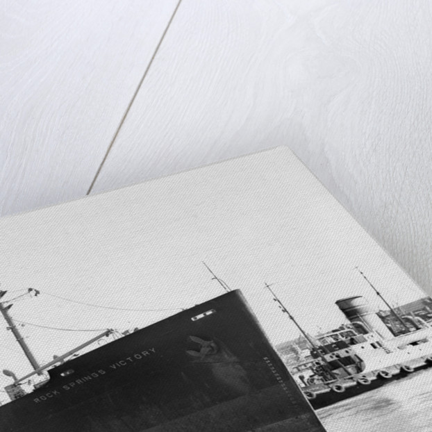 'Rock Springs Victory' (Am, 1945) in Cape Town Harbour by unknown