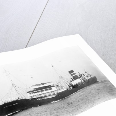 'British Trust' tanker (Br, 1939, British Tanker Co Ltd) under way by unknown