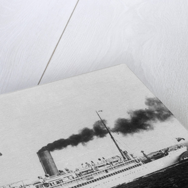'Port Kingston' (Br,1904) under way by unknown