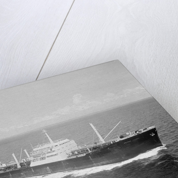 'British Cygnet' (Br, 1962) under way in the Strait of Malacca by unknown