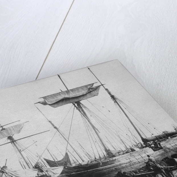 'RGD' 2 masted topsail schooner by unknown