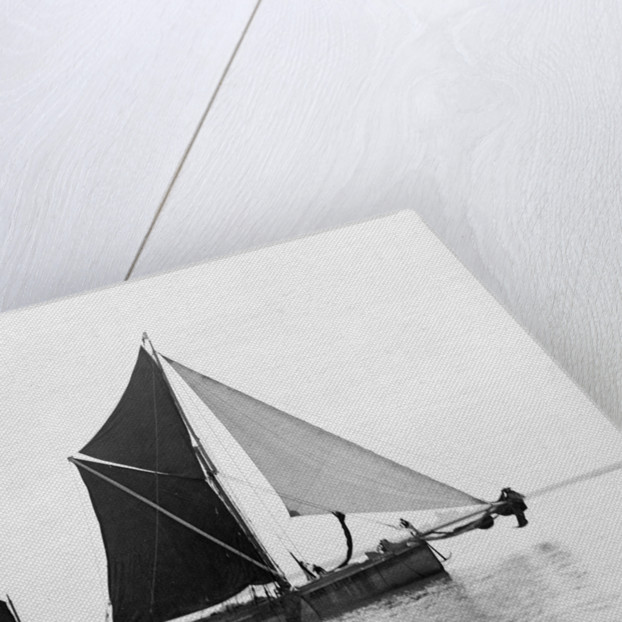 'Phoenician' (Br, 1922) spritsail barge, under sail during Thamse barge race by unknown
