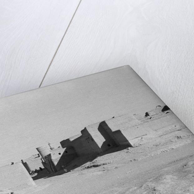 Scene inside the Kuwait City walls by Alan Villiers
