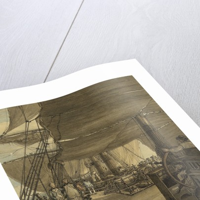 A scene on board HMS 'Deal Castle', Captain J. Cumming, in a voyage from the West Indies in the year 1775 by Thomas Hearne