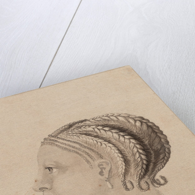 Head of a West African woman by Gabriel Bray