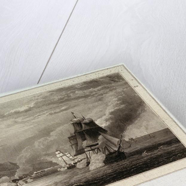 Attaque d' Alger par mer (3 Juillet 1830) by Pardinel