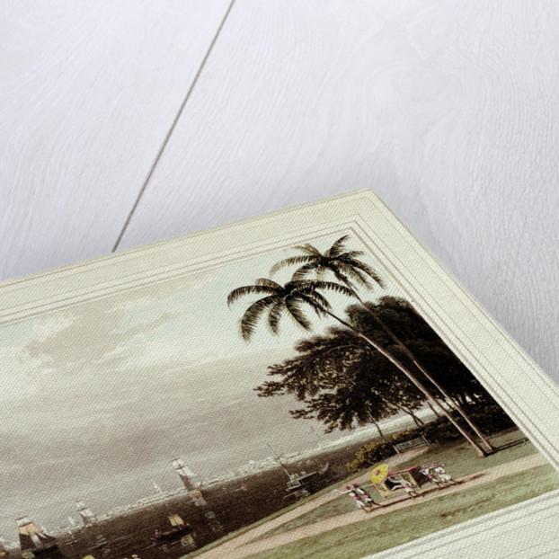 View of Calcutta from the Garden Reach by Thomas Daniell