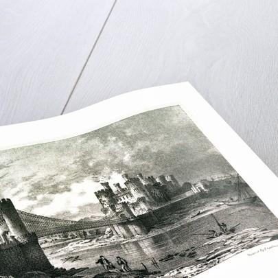 Conway Bridge & Castle by George Pickering