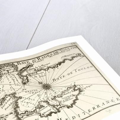 Plan de la Baye & Rades de Toulon Par les Srs Michelot et Bremond, 1727 Avec Privilege du Roy. 1727' by P. Starckman