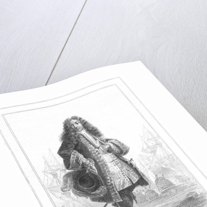 Lieutenant Duguay-Trouin by Denis Auguste Marie Raffet
