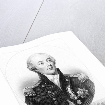 Rear Admiral Sir James Saumarez, K.B. by Jean