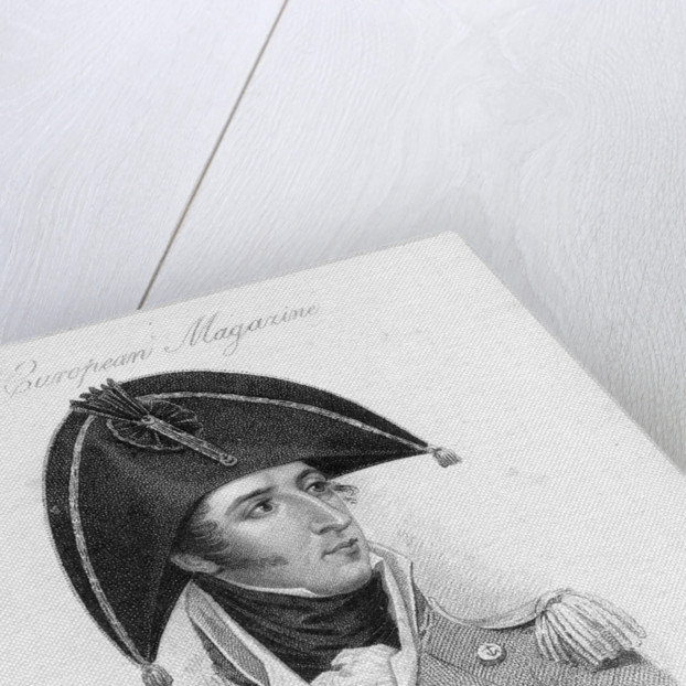 The Right Honble Captain Lord Cochrane K.B. by Thomson