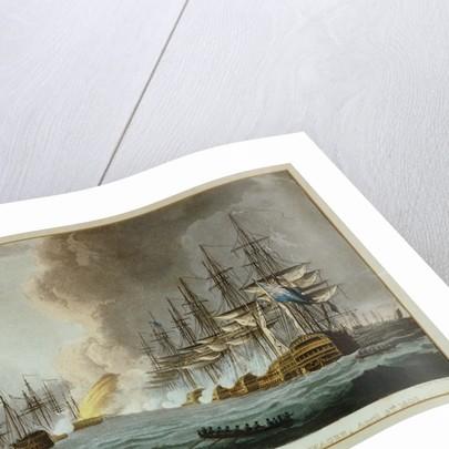 Destruction of the Danish Fleet before Copenhagen, 2 April 1801 by Thomas Whitcombe