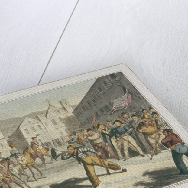 Jack's Trump of Defiance by George Cruikshank