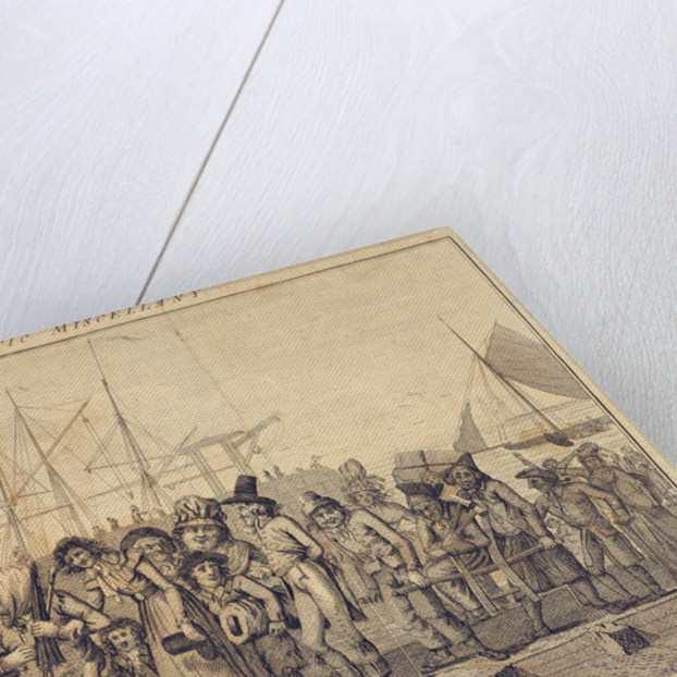 Attic miscellany, landing at Margate by S. Collings