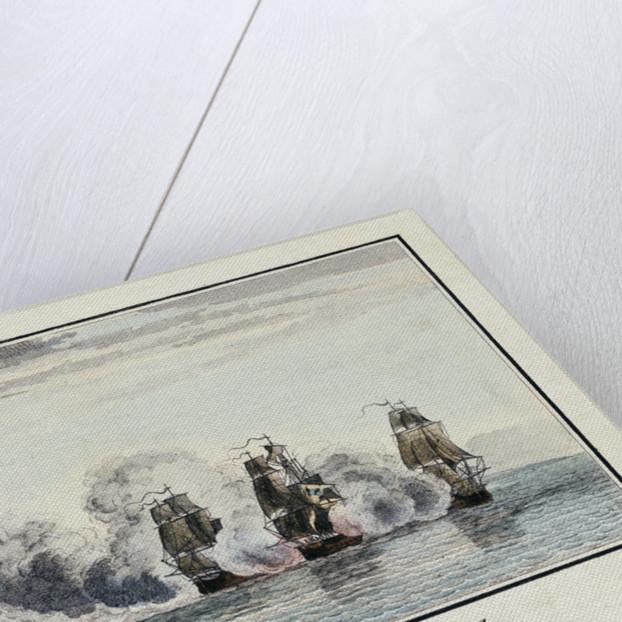 Prise du Romulus dans la Baye de Chesapeak. Par Mr. Le Cardeur de Tilly by Le Cardeur de Tilly
