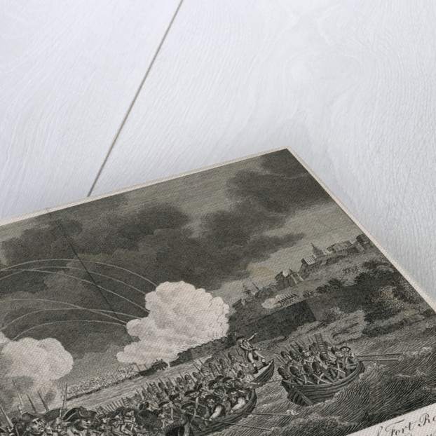 View of the storming and taking the fort and town of Fort Royal in the island of Martinique, by General Sir Charles Grey and Vice Admiral Sir John Jervis, 24 March 1794 by Robert Dodd