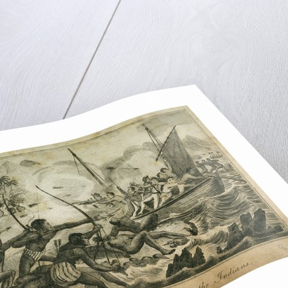Crew of the 'Swallow' attacked by the Indians by unknown
