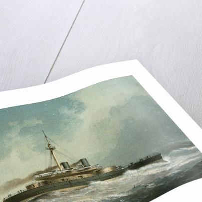 HMS 'Devastation' by Griffin & Co