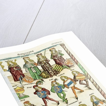 The Nuremberg Chronicle by Hartmann Schedel by Michael Wolgemut