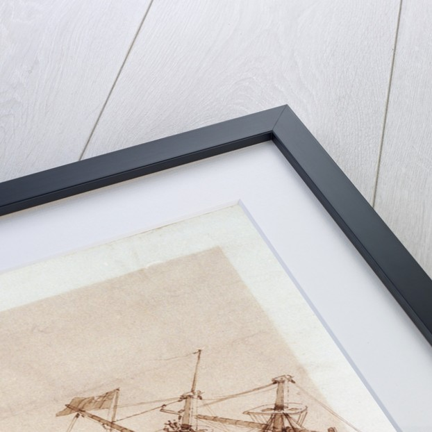 The loss of HMS 'Conqueror' by George Pechell Mends