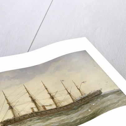 HMS 'Agincourt' by William Frederick Mitchell