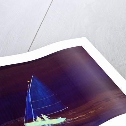 Sailing dinghy by William Lionel Wyllie