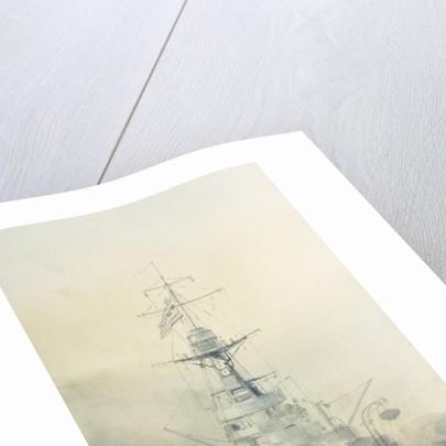 HMS 'King George V' by William Lionel Wyllie