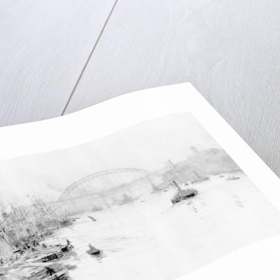 New Bridge, Newcastle by William Lionel Wyllie
