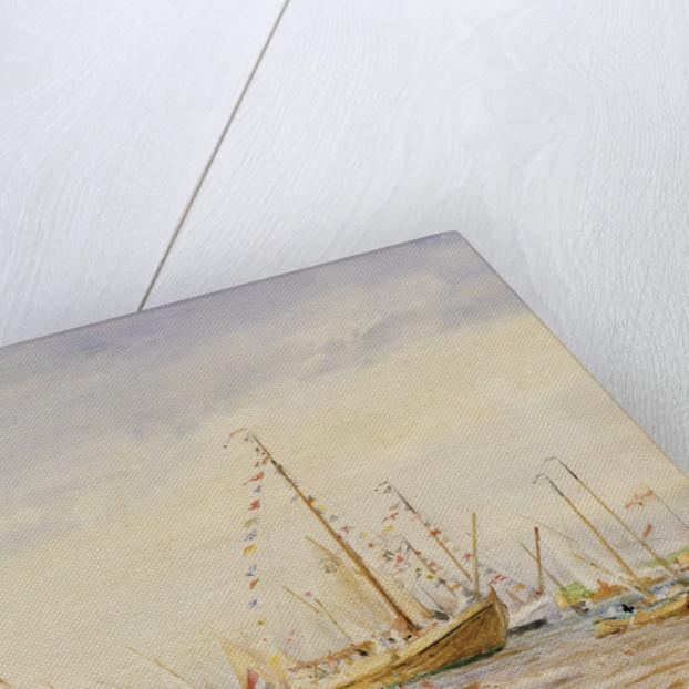 Racing, Zuider Zee by William Lionel Wyllie