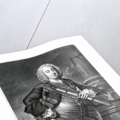 Edward, Lord Hawke (1705-1781) by Johan Faber