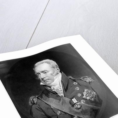 Admiral Sir Richard Goodwin Keats. G C B. Governor of the Royal Hospital, Greenwich by John Jackson