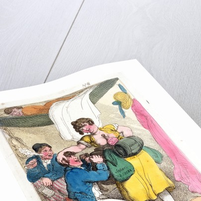Rigging out a smuggler by Thomas Rowlandson