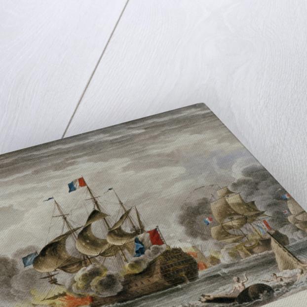 Battle of Beachy Head, 30 June 1690 by Nicolas Ozanne