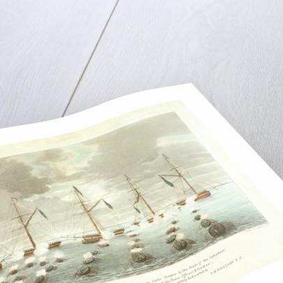 'The Gallant Attack & Capture of the American Gun Boats in Lake Borgne by the Boats of the Squadron under the Command of Captain N Lockyer by T.M. Williams