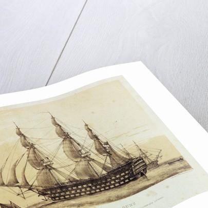 HMS 'Britannia' by John Ward