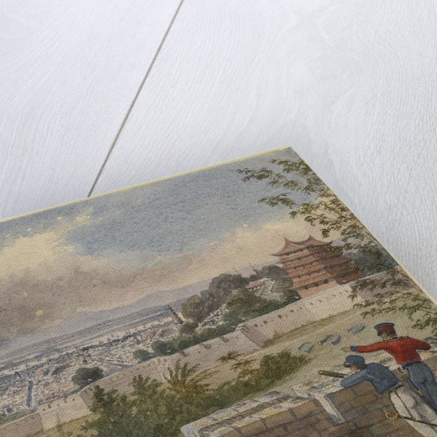Canton from the Heights, 29 May 1841 by Edward Hodges Cree
