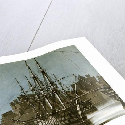 Ras el Kijma, chief port of the Wakabee pirates by Charles Hamilton Smith