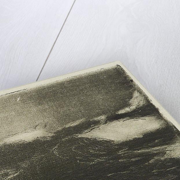 Seascape - grey-black rollers 1 by John Everett