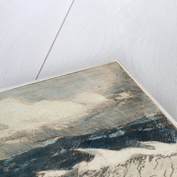Seascape - pale blue breakers 5 'The Rainbow' by Herbert Barnard John Everett