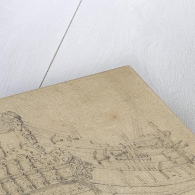 The 'St Paulus' by Willem Van de Velde the Younger