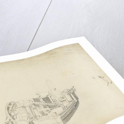 Study of a dredger by Willem Van de Velde the Younger